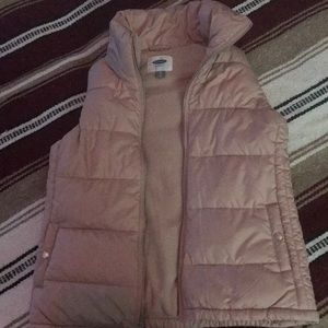 Baby pink Old Navy Vest